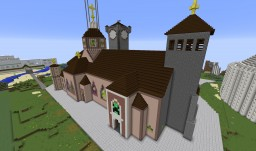 St. Sebastianus Cathedrale of (RP-)Roma Minecraft Map & Project