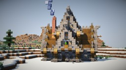 Medieval House 3 + DOWNLOAD! Minecraft Map & Project