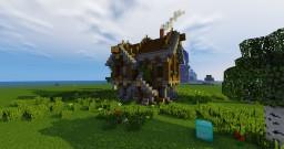 Medium Medieval Home Minecraft Map & Project