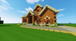 New American House Minecraft Map & Project