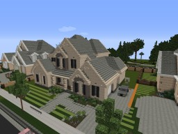 New American Home Minecraft Map & Project