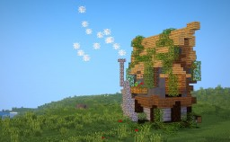 𝔄𝔯𝔠𝔥𝔞𝔢𝔞 - Rustic House Minecraft Map & Project