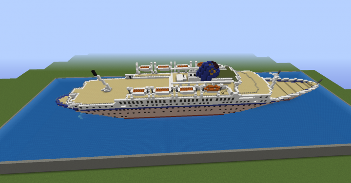 MTS Oceanos Minecraft Project - Sinking cruise ship oceanos