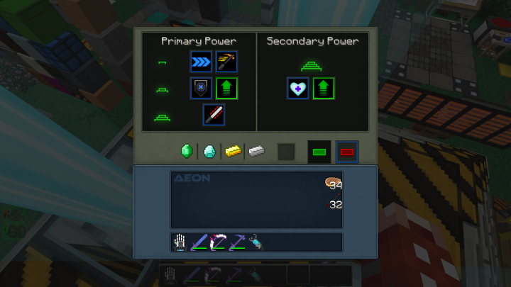 New Beacon interface