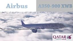 Airbus A350-900 XWB Qatar Minecraft Map & Project