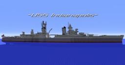 USS Indianapolis Minecraft