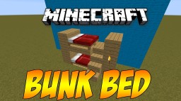 Bunk Bed Minecraft Map & Project