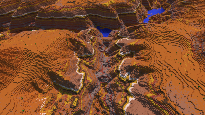 Realistic Desert Canyon Minecraft Map