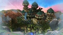 iHlyhi Natural Castle Minecraft Project