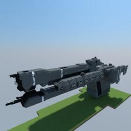 UNSC Charon-Class Light Frigate Minecraft Map & Project