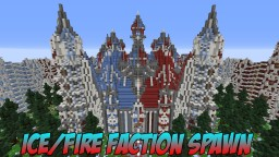 Minecraft - Ice/Fire Castle Themed Faction Spawn [1.7 - 1.14] Minecraft Map & Project