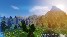 The Mountain Pass - 1k x 1k Map Minecraft Map & Project