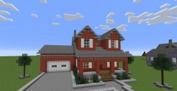 Townhome Minecraft Map & Project