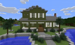 New House Minecraft Map & Project