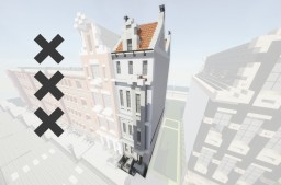 Amsterdam Townhouse 1 | WOK Minecraft Map & Project
