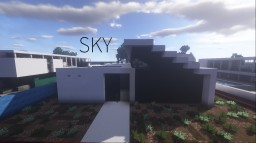 S K Y - Modern House - ⊑IAS⊒ Minecraft Project
