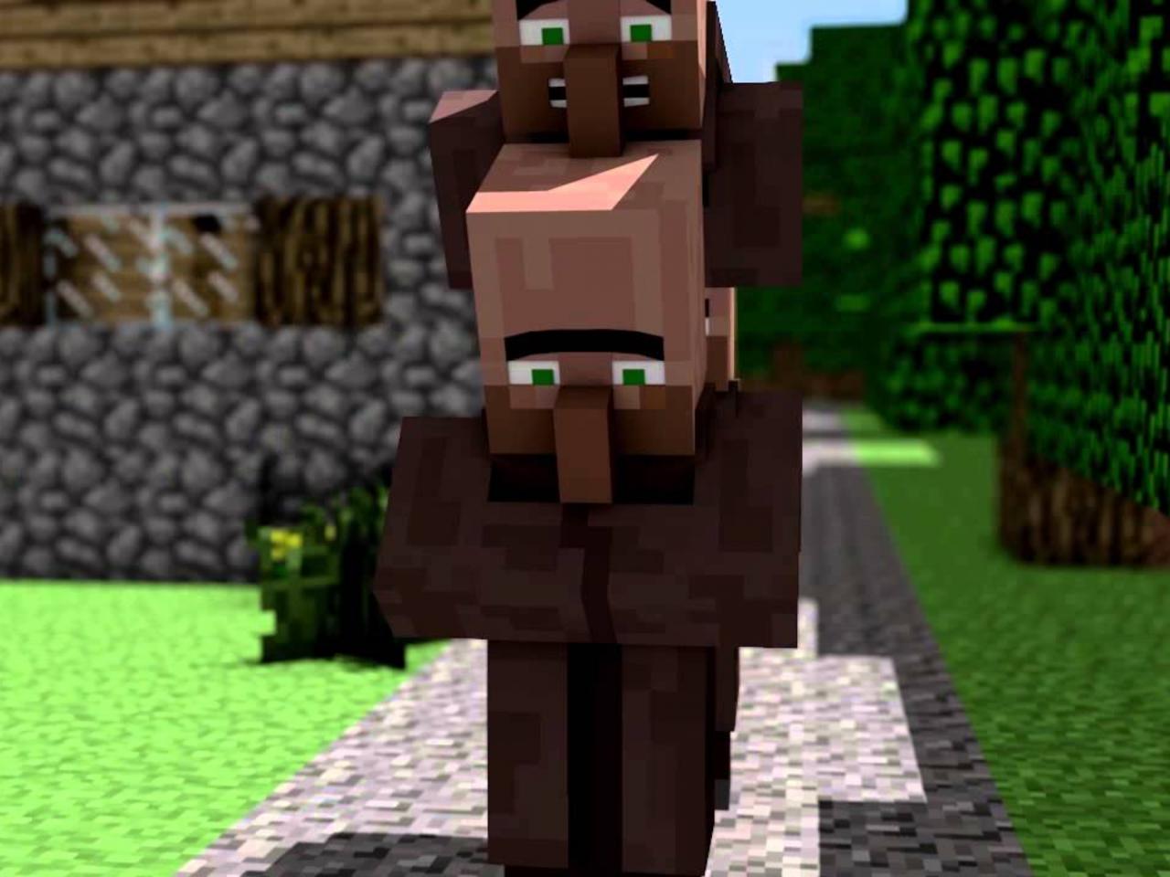 Villagers Minecraft