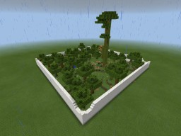 (PE) Mini Jungle Hunger Games Map Minecraft Project