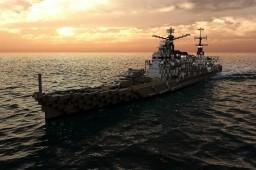 Japanese Cruiser Takao [高雄] Minecraft Map & Project