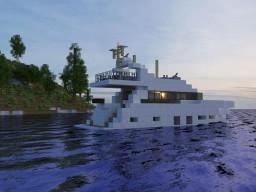 Princess 82 Luxury Motor Yacht Minecraft Map & Project