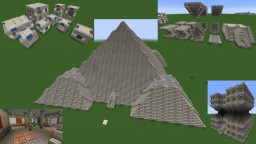 Modular Building Blocks Minecraft Map & Project