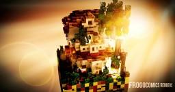 Realistic Spanish Villa    [Chunk Challange] Minecraft Map & Project