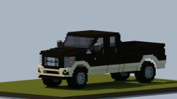 Minecraft Giant  2016 Ford F350 King Ranch Minecraft Map & Project