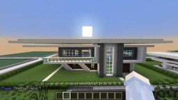 My Modern House. Interior and Exterior Minecraft Map & Project