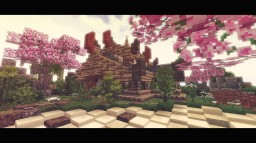 Oriental Fantasy House Minecraft Map & Project