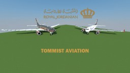 Airbus A319/ Boeing 787 - Royal Jordanian Airlines [+Download] Minecraft