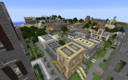 Beachfront City | RECENTLY updated! | Minecraft