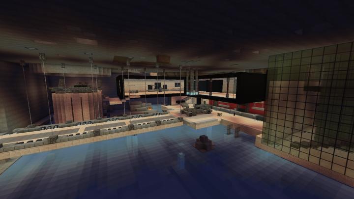 Bruce Wayne Residence Minecraft Project