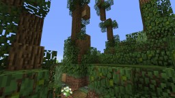 His Forest and the Caverns Minecraft Map & Project
