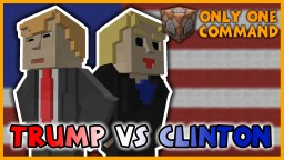 Donald Trump vs Hillary Clinton in One Command | Who Will Win? Minecraft Map & Project