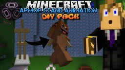 Minecraft Armor Stand Animations Do It Yourself Pack Minecraft Project
