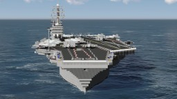 USS Nimitz CVN-68 Minecraft Map & Project