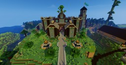 The Clay Castle Minecraft Map & Project