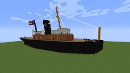New York Tugboat- Titanic Era Minecraft Map & Project