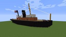 New York Tugboat- Titanic Era Minecraft Project