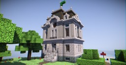 Beach House (Beaux Arts) Minecraft Project
