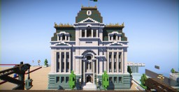 City Mansion [Beaux Arts] Minecraft Map & Project