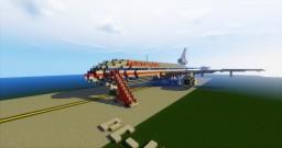 American Airlnes DC-10 Minecraft Map & Project