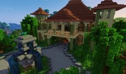 Sevalemond - Sandstone villa Minecraft Map & Project
