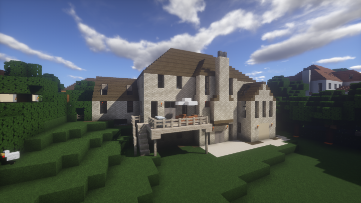 Oakmont Homes Bellefield Minecraft Project