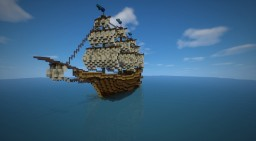 Storm's Fury - A Minecraft ship Minecraft Map & Project