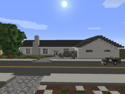 Ranch Home Minecraft Map & Project