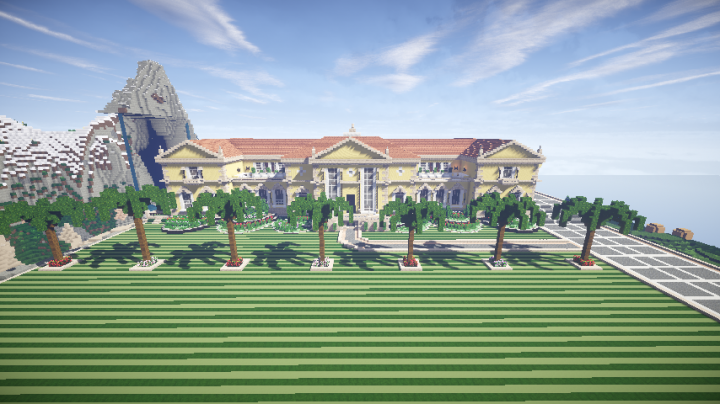 Luxury Beach House Minecraft Project