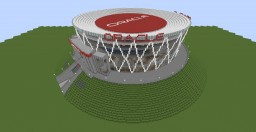 Oracle Arena : Home of the Golden State Warriors (With 4 Setups/Layouts) Minecraft Map & Project