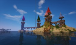 Mindstorm SMP: Dark's Island Castle Minecraft Map & Project