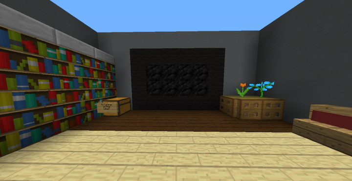 working tv minecraft project